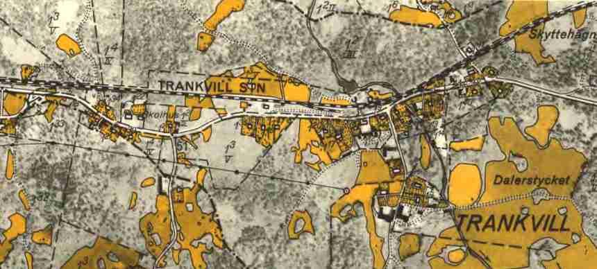 Ekonomisk Karta Blekinge.Ostra Blekinge Jarnvag Oblj