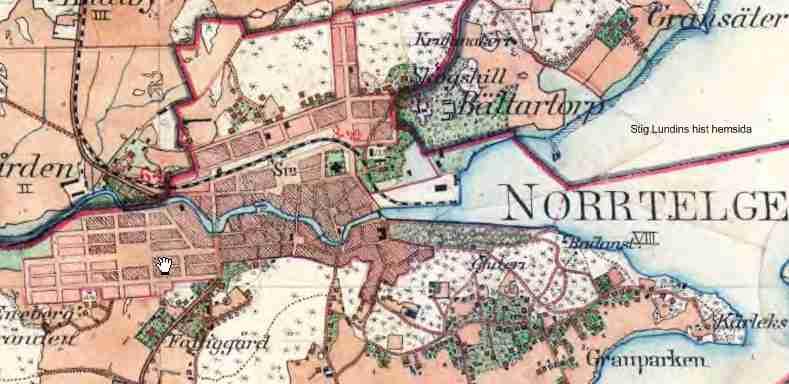 karta norrtälje Uppsala   Länna   Norrtälje Järnväg (ULNJ) karta norrtälje